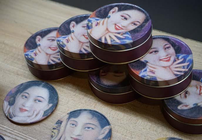 retro china 1930s makeup