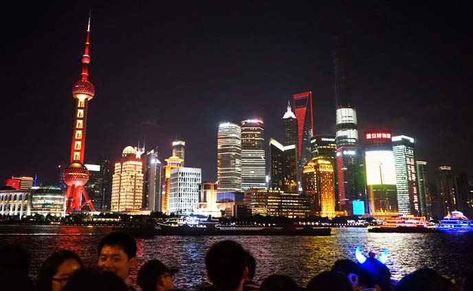 the bund, shanghai skyline