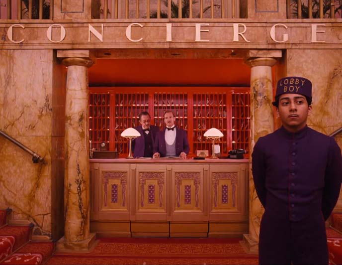 concierge, lobby boy outfit