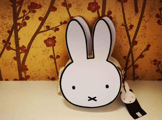 miffy bunny shaped purse