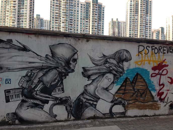 50 Moganshan Lu murals