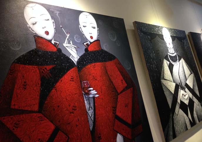 chinese modern art, qiu shengxian