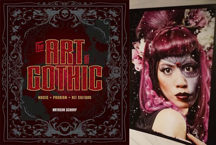 art of gothic book by natasha scharf