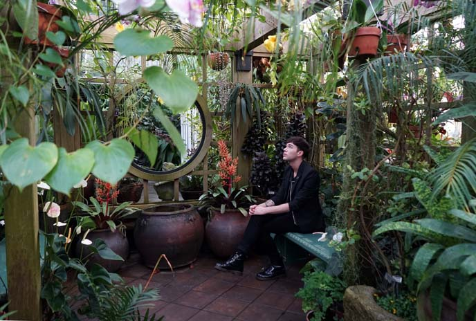 san francisco greenhouse, garden