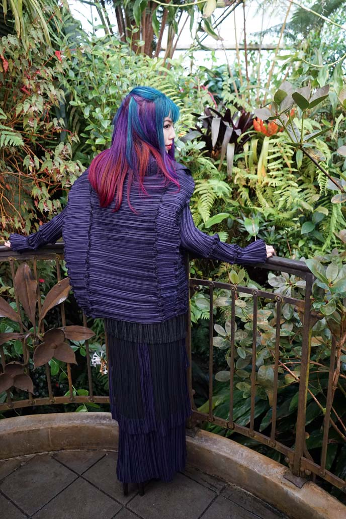 issey miyake purple jacket