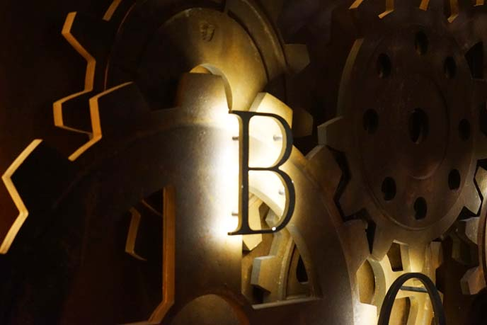 steampunk clockwork wall decoration