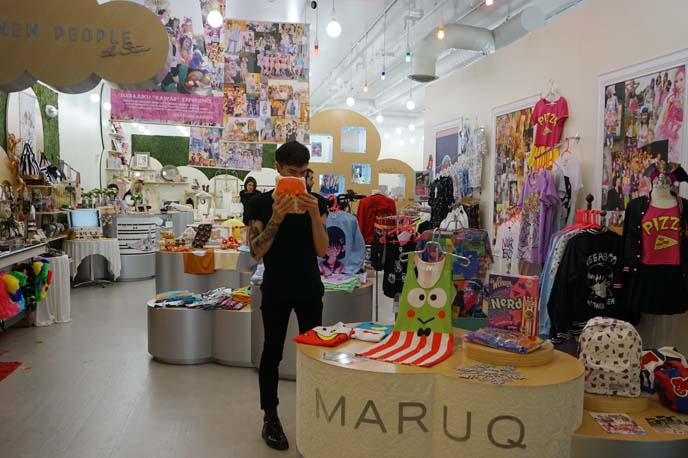maruq store, new people world