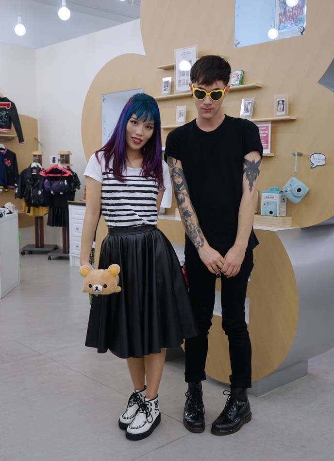 japanese street fashion couple