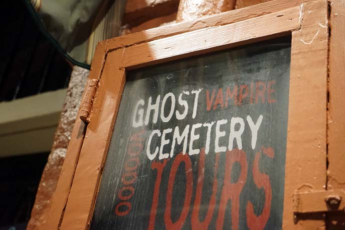 ghost vampire cemetery tours