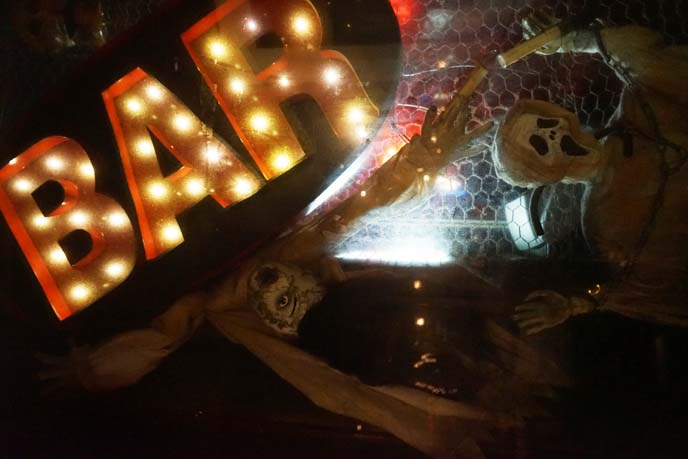goth metal music bar