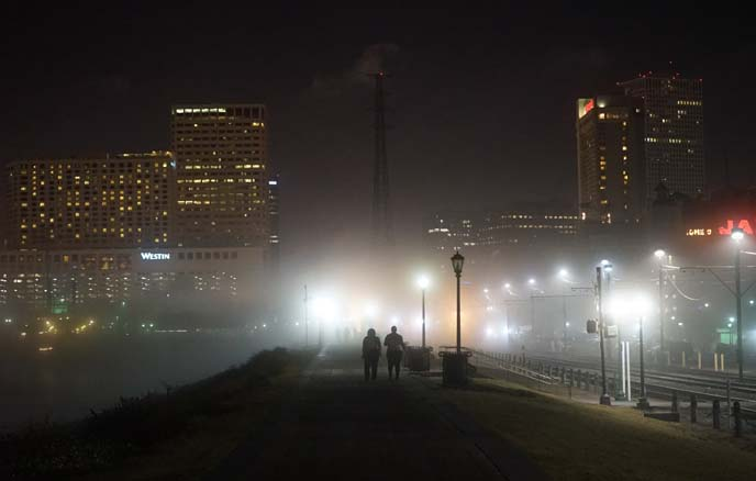 new orleans waterfront night