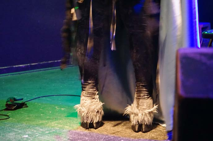 hooves feet costume