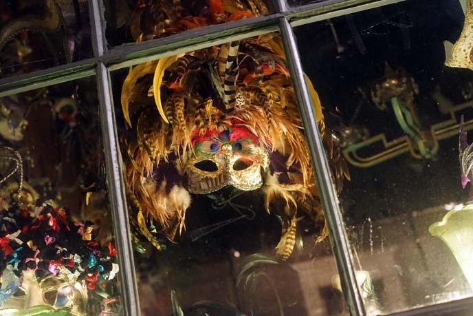 mask shop window display
