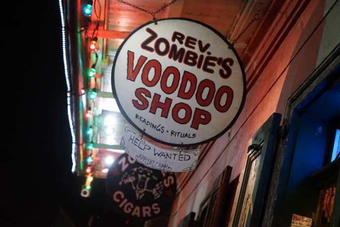 rev zombie's voodoo shop