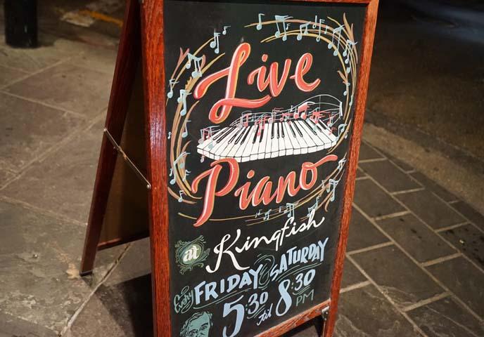 live piano bar nola