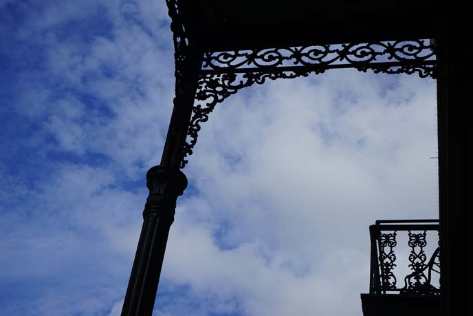 french quarter iron architecture