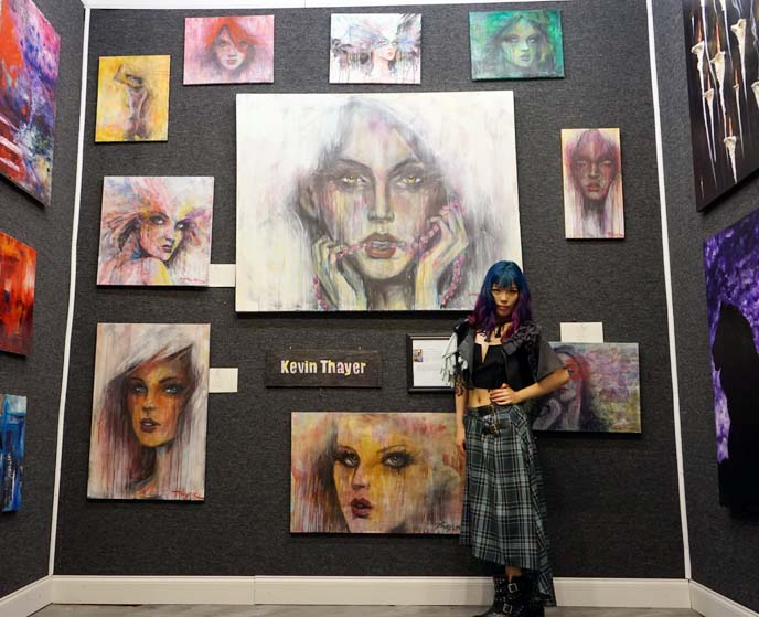 kevin thayer art, paintings