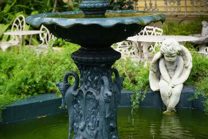 southern courtyard fountain