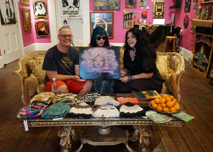 goth art gallery, new orleans