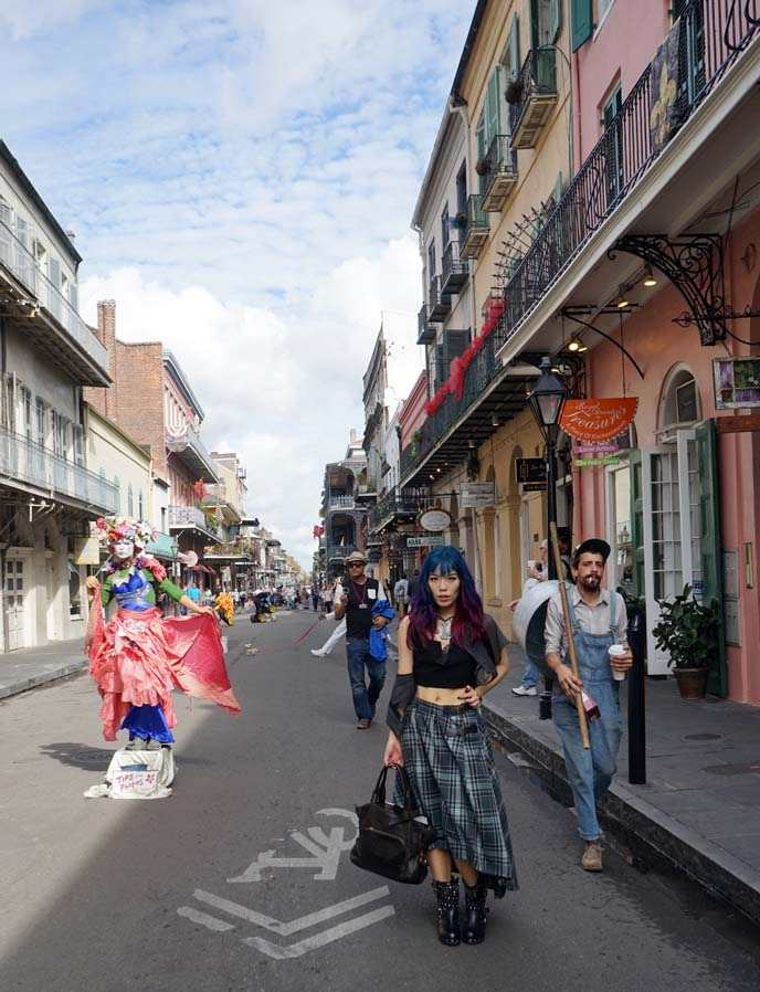 french quarter street performers
