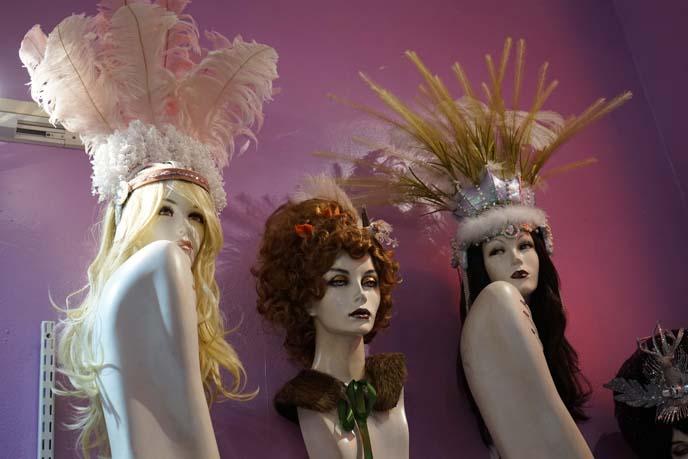 mardi gras wigs