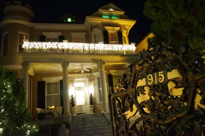 louisiana haunted house, hotel