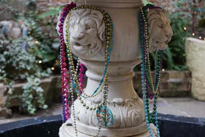 nola mardi gras beads