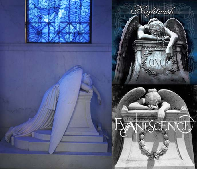 weeping angel nightwish evanescence album cover
