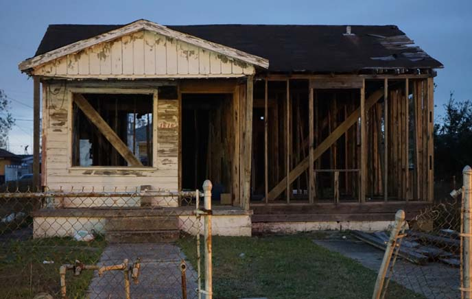 katrina reconstruction houses