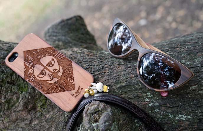 wood sunglasses, pink floyd iphone case