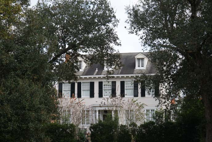 fancy southern plantation home