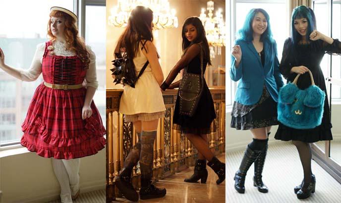 toronto lolita fashion, western lolitas