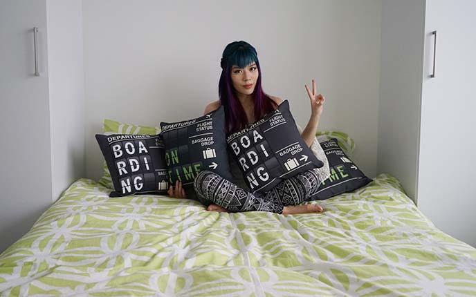 airportag home decor pillows