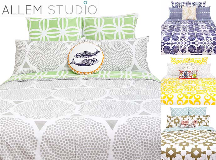 allem studio artisan bed sheets