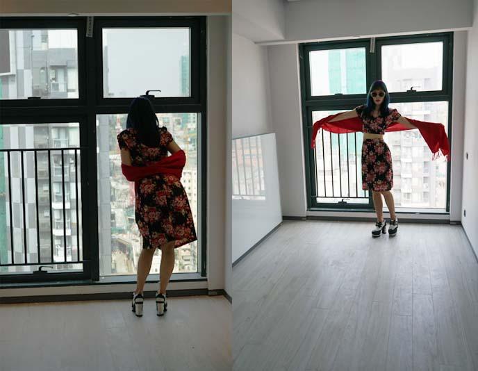 hong kong empty apartment, kowloon