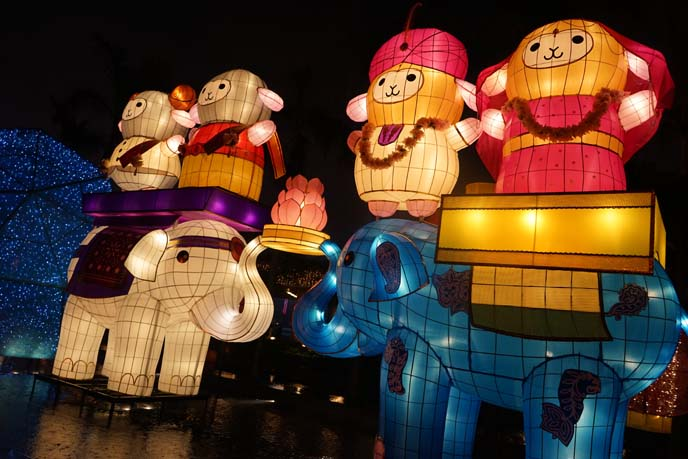 year of the sheep lanterns