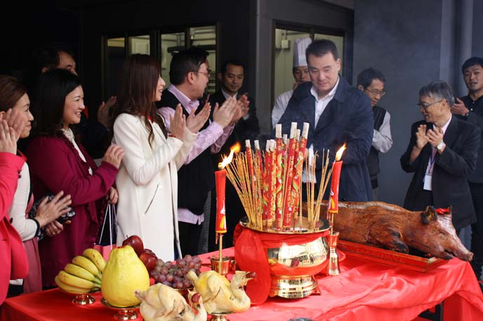 chinese new year ritual offerings