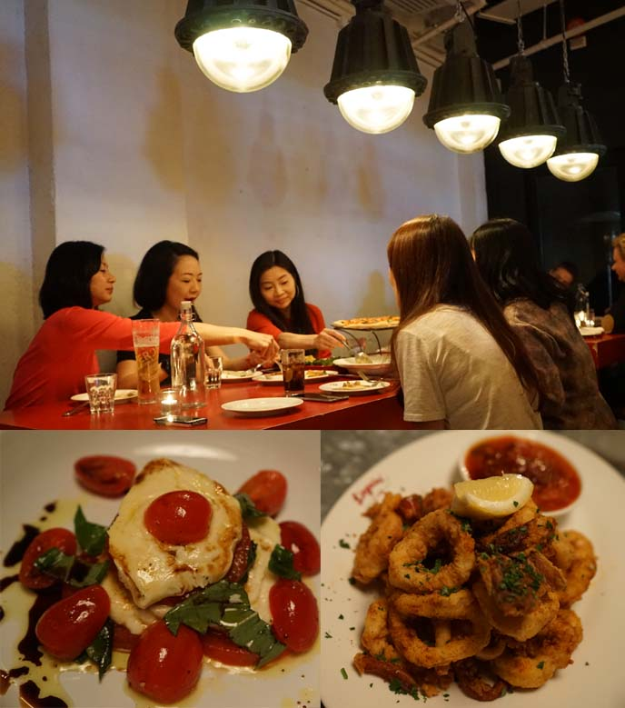 hong kong italian restaurant, linguini fini
