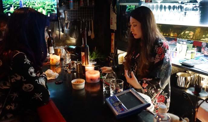 small local japanese bars