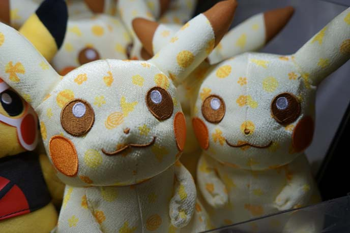stuffed toy pikachus