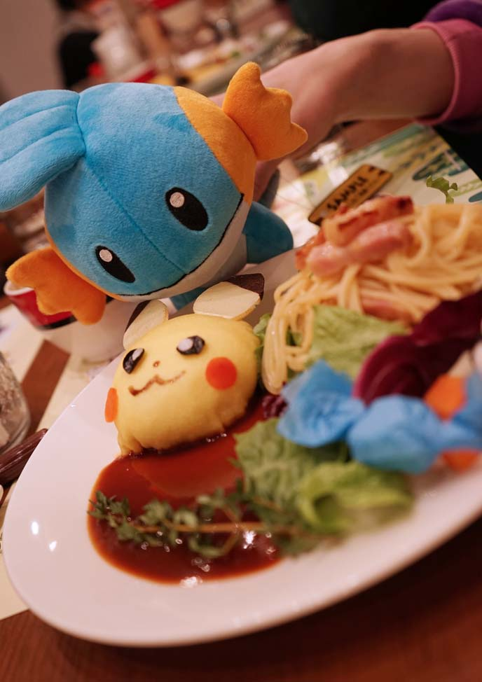 pokemon decorated food
