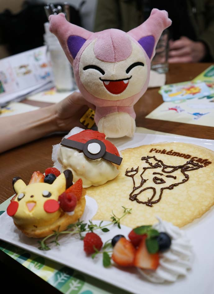 pokemon theme restaurant food