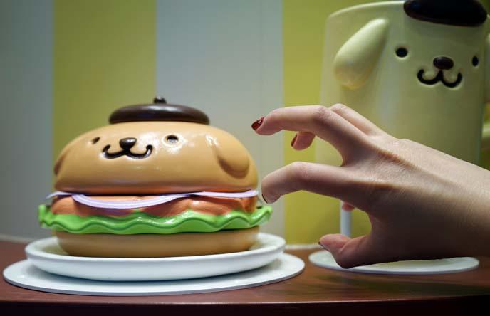 weird japanese burger