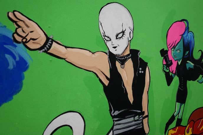 dj chihiro, decabar mural