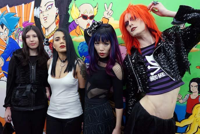 gothic punk bar, club tokyo