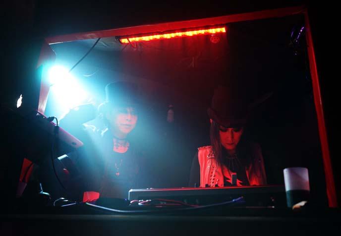 japanese djs, tokyo goths