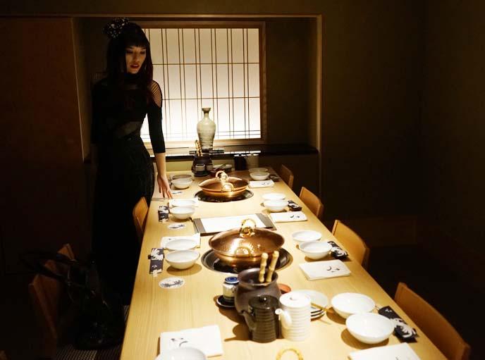 roppongi top japanese restaurant, fine dining