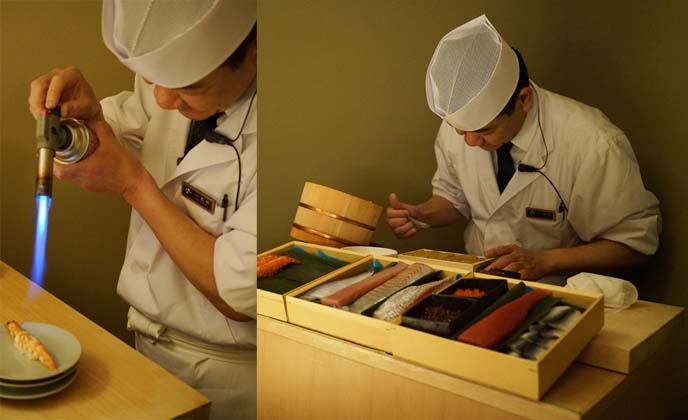 personal sushi chef, japan