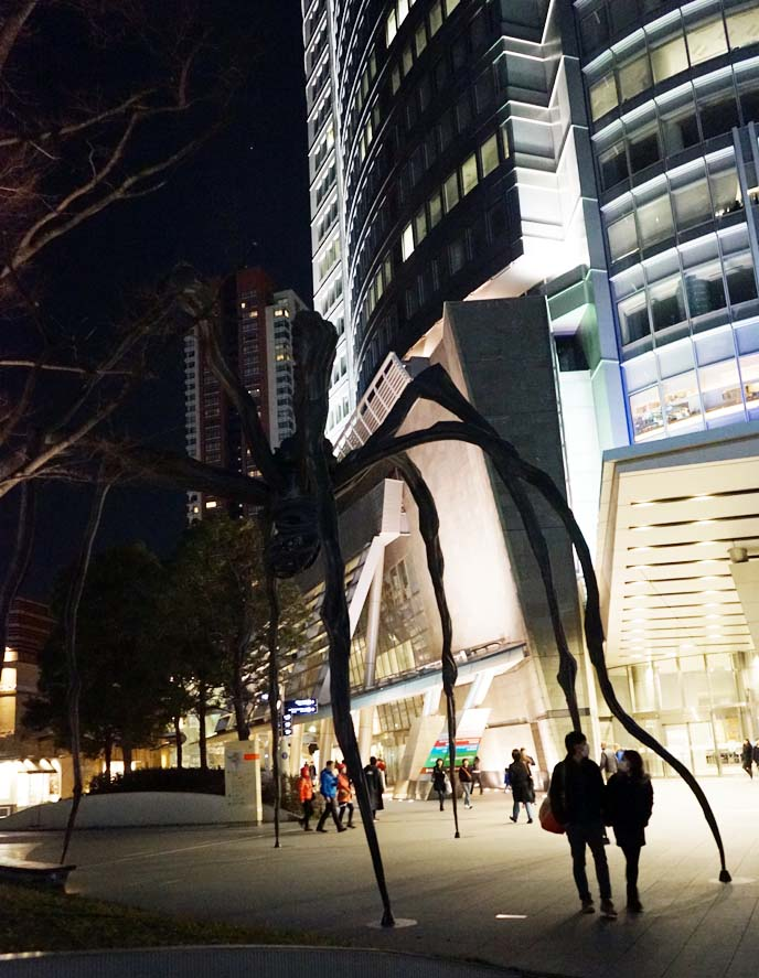 roppongi hills spider statue