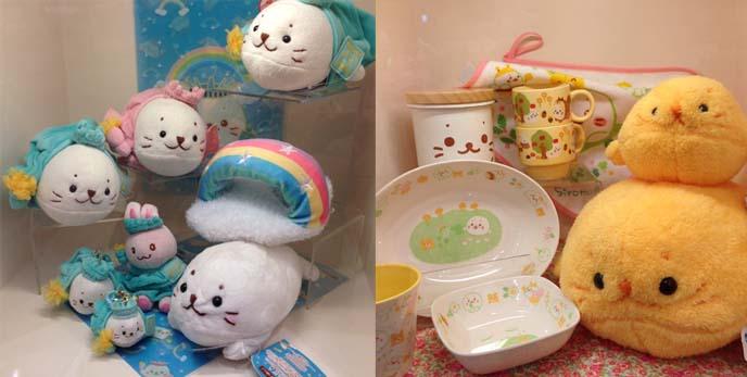 cute seal plush toys